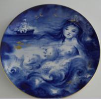Meissen Jahresteller Märchen Die kleine Seejungfrau