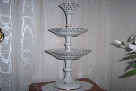 Foto 5 Meissener Porzellan, Etagere, Tafelaufsatz, Meissen, Konfektschale