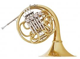 Meister Hans Hoyer G10 A-L Profiklasse Doppelhorn, NEU - 20% Rabatt