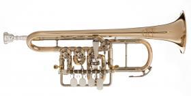 Meister J. Scherzer Hoch G - Piccolotrompete, Mod. 8113 G, Neuware / OVP