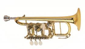 Foto 3 Meister J. Scherzer Piccolo-Trompete / Piccolotrompete