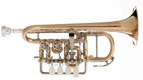 Foto 4 Meister J. Scherzer Piccolo-Trompete / Piccolotrompete