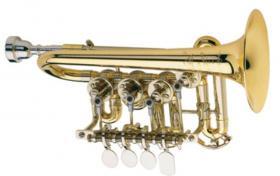 Foto 5 Meister J. Scherzer Piccolo-Trompete / Piccolotrompete