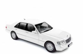 Mercedes Benz S600 W140 1997 1:18 weiß