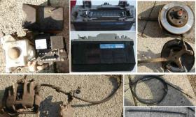 Foto 3 Mercedes C180 - Sensoren , Steuergerät, Hupe, Bremsscheiben, Sattel, Bremsseil u.v.m.