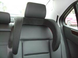 Mercedes Seitenkopfstütze für integrierten Kindersitz NEU