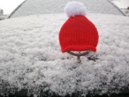 769060424128cf Mercedesstern-Weihnachtsmütze aus Baumwolle in Malente von privat