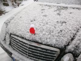 Foto 3 Mercedesstern-Weihnachtsmütze aus Baumwolle