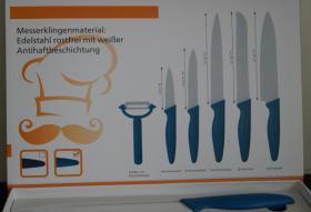 Messerset Mit Schäler 6 TLG.