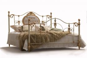 Metall-Bett
