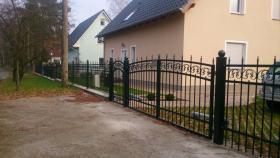 Foto 4 Metall zaune aus Polen , Rabatt jetzt  -15% Winter promotion!