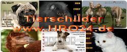 Metall - Warnschild Deutscher Schäferhund, DSH