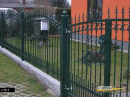 Foto 2 Metallzäune aus Polen – 15% Zaunbau vom Hersteller