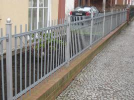 Foto 2 Metallzaun aus Polen, Pforten, Toren, Sichtschutz noch -15%