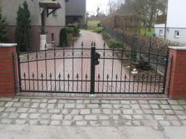 Foto 5 Metallzaune aus Polen hoch qualitat!!!