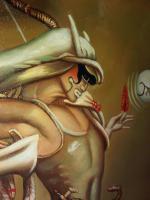 Michael Parkes 60 x 90 cm ein Ölgemälde in Museumsqualität!