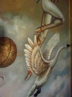 Foto 5 Michael Parkes 60 x 90 cm ein Ölgemälde in Museumsqualität!
