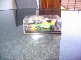 "Michael Schumacher Collection Edition 64 Nr.1"" der Benetton Ford B192."