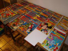 Foto 3 Micky Maus Hefte 140 Stück und 5 Stück Bände