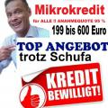 Mikro Kredit, Eilkredit ohne Schufa für ALLE!!