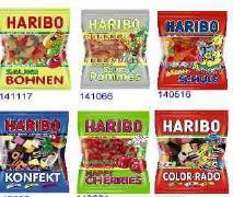 Milka, Haribo, Mentos und andere - Süßwaren Großhandelsposten