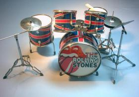 Mini Drum Kit - The Rolling Stones