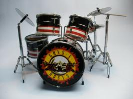 Mini Drum kit – Guns 'n Roses