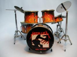Mini Drum kit – Metallica - Kill 'em All