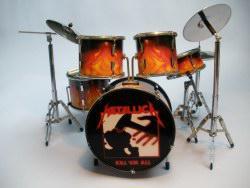 Mini Drum kit – Metallica - Kill 'em All