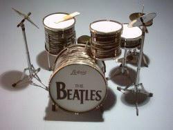 Mini Drum kit Beatles