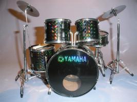 Mini Drum kit Yamaha - Schwarz