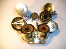 Foto 2 Mini Drum kit Yamaha - Silver