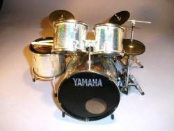 Mini Drum kit Yamaha - Silver