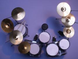 Foto 2 Mini Drum kit - Avenged Sevenfold (snake-skin)
