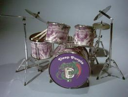 Mini Drum kit - Deep Purple