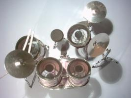 Foto 2 Mini Drum kit - Deep Purple