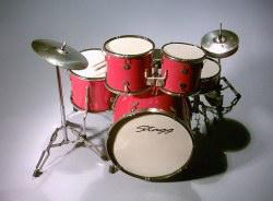 Mini Drum kit  - Stagg (red)