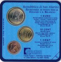 Foto 2 Mini Euro Kursmünzensatz Original San Marino '' 2004'' ! !