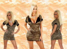 Mini Kleid - Leopard