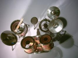 Foto 2 Miniatur Drum kit – Iron Maiden