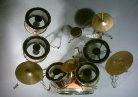Foto 2 Miniatur Drum kit - DW-Fire