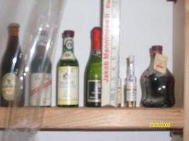 Miniatur Flaschensammlung nur Originale!