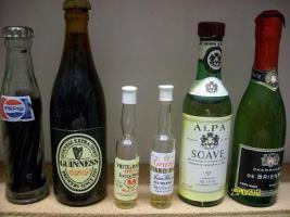 Foto 2 Miniatur Flaschensammlung nur Originale!