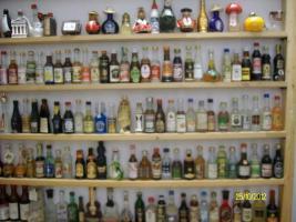Foto 4 Miniatur Flaschensammlung nur Originale!