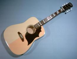 Miniaturgitarre – Acoustic Elvis Gibson – Natural