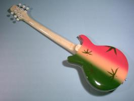 Foto 2 Miniaturgitarre – Bob Marley' Marihuana Gibson Guitar