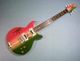 Miniaturgitarre – Bob Marley' Marihuana Gibson Guitar