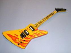 Miniaturgitarre – Cheap Trick's Rick Nielson – Gonna Raise Hell