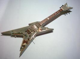 Miniaturgitarre – Dean Razorback