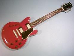 Miniaturgitarre – Eric Clapton - Crossroads ES-335